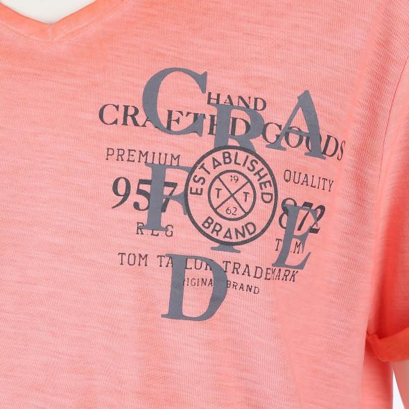 Herren T-Shirt mit speziellem Farbcharacter