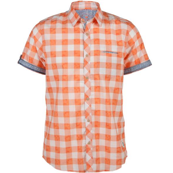 Herren Freizeit Hemd mit kurzen Ärmeln