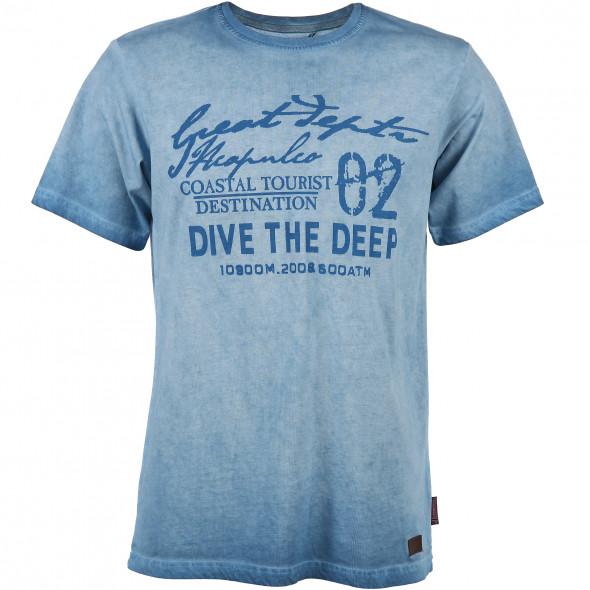 Herren Shirt mit Frontprint