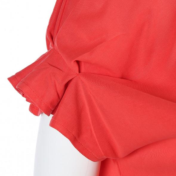 Damen Shirt mit raffinierten Ärmeln
