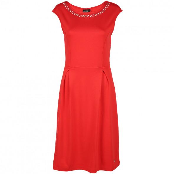 Damen Kleid mit Steinchenbesatz