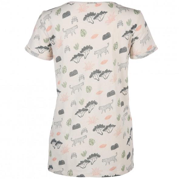 Damen Shirt mit Safari Print