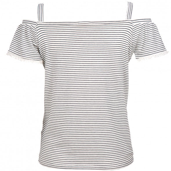 Damen Shirt im Offshoulder Look