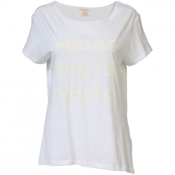 Damen Shirt mit Schriftprint