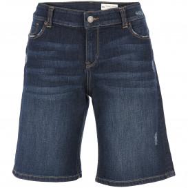 Damen Shorts in dunklem Denim Style