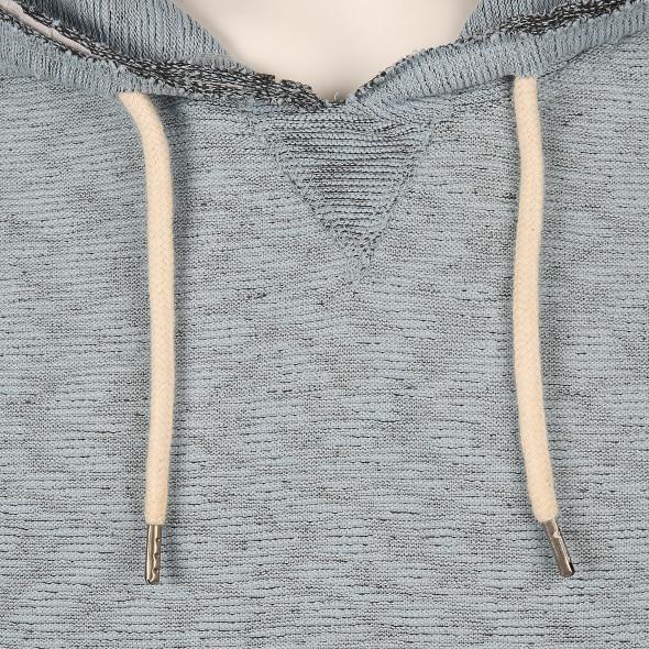 Herren Sweatshirt mit angesetzter Kapuze