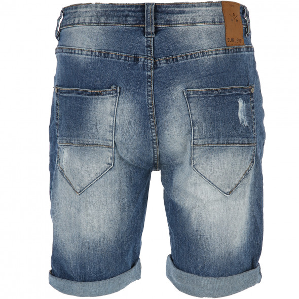 Herren Bermuda Jeansshorts