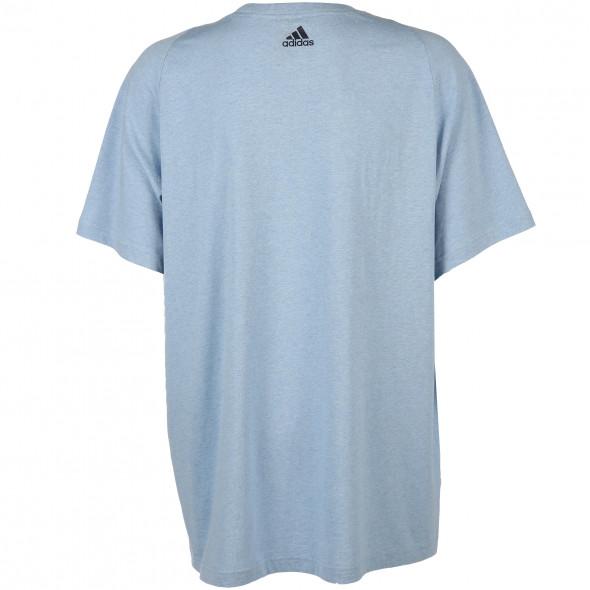 Herren Sport Shirt mit Logo-Print auf der Brust