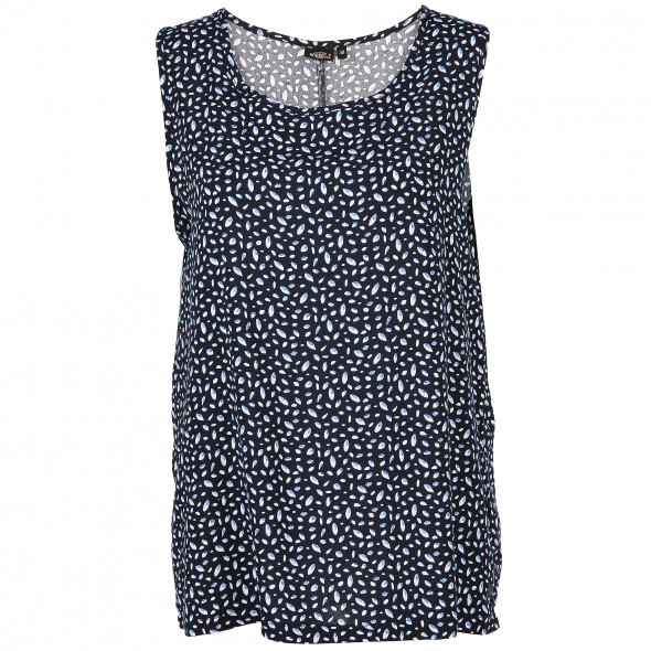 Damen Top mit Allover Print