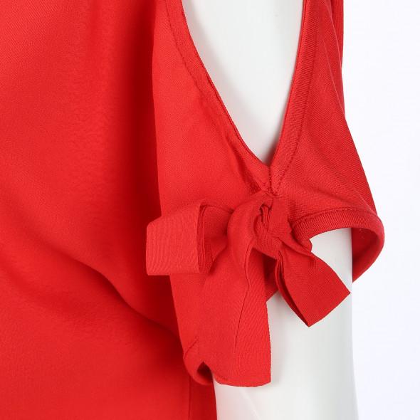 Damen Shirt mit ausgeschnittenen Schultern