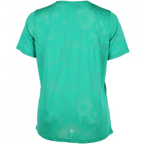 Große Größen Shirt im Ausbrenner Look