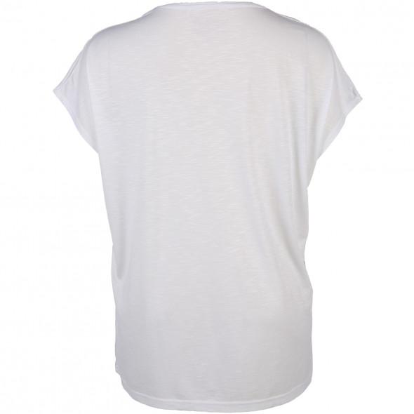Große Größen Shirt mit Glitzerprint