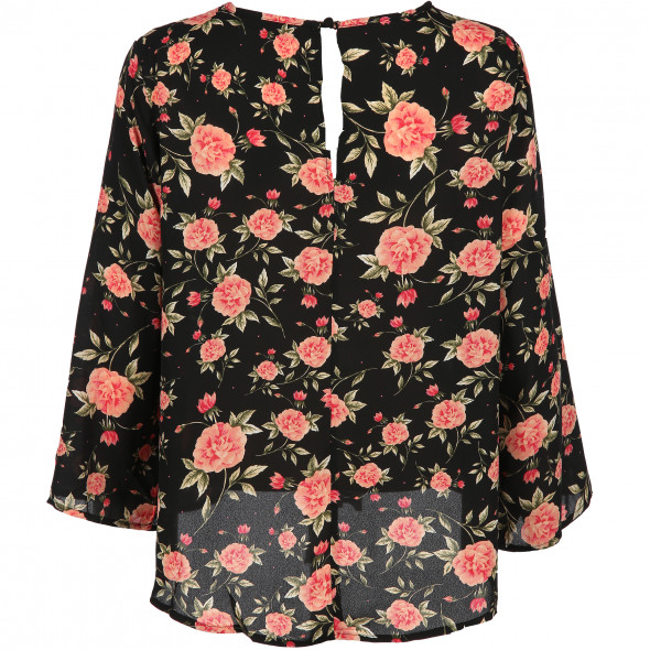 Damen Shirt im Blumenprint