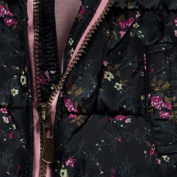 Baby Mädchen Weste mit floralem Print
