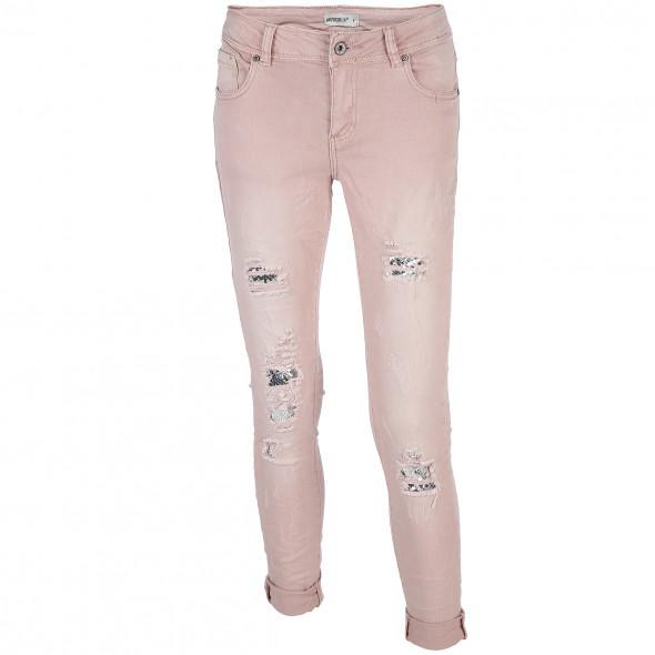 Damen Jeans mit besonderen Details