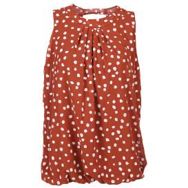 Hailys DOTTY Blouson Bluse ohne Ärmel