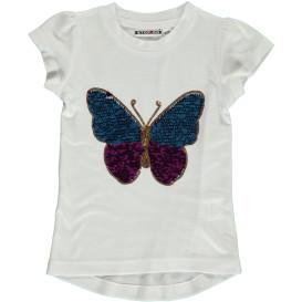 Mädchen Shirt mit Pailletten Motiv