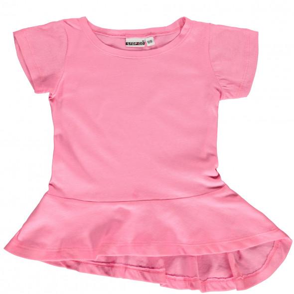 Mädchen T-Shirt mit Schößchen