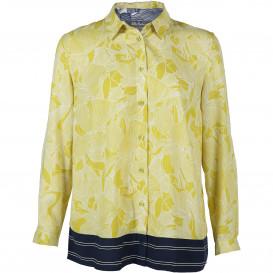 Große Größen Bluse im floaralen Style
