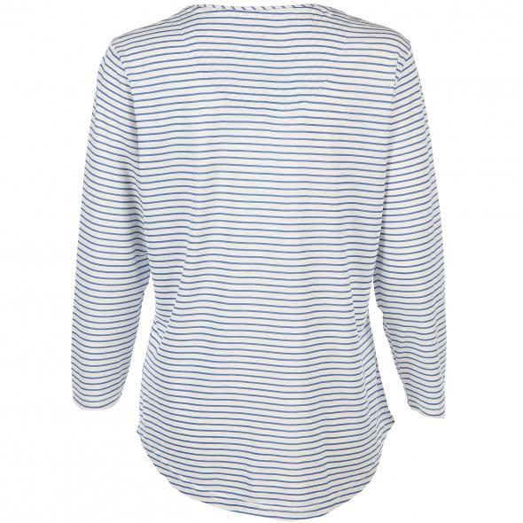 Damen Landhaus Shirt im Ringellook