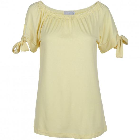 Damen Carmenshirt mit Raglanarm