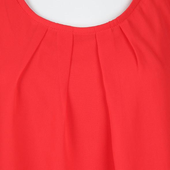 Damen Chiffon Top in leichter A-Form