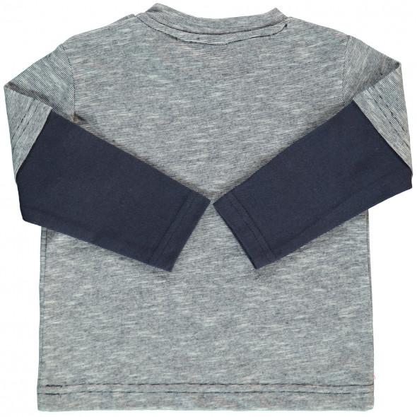 Baby Langarmshirt im 2in1 Look
