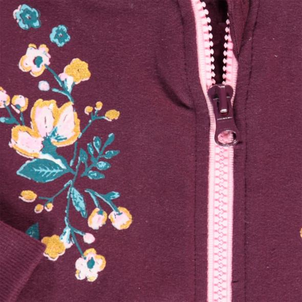 Baby Mädchen Cardigan mit Blumenprint