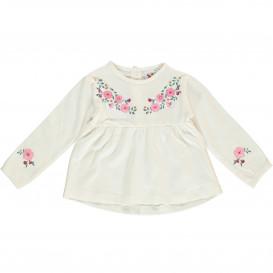 Baby Langarmshirt mit Blumenprint