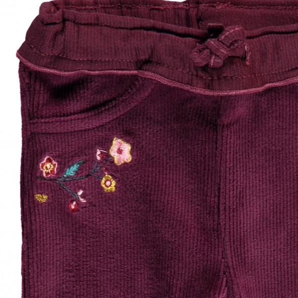 Baby Mädchen Leggings mit Blumenstickerei