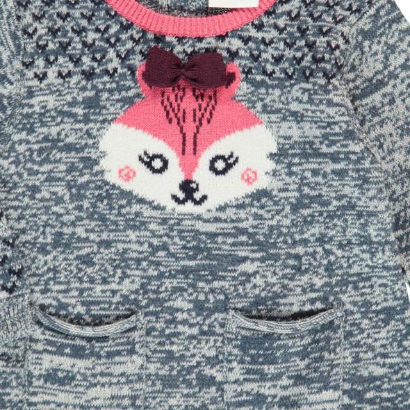 Baby Mädchen Pullover mit Fuchs-Motiv