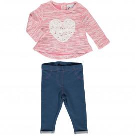 Baby Mädchen Set bestehend aus Pullover und Legging