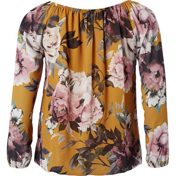 Damen Bluse im Blumendessin