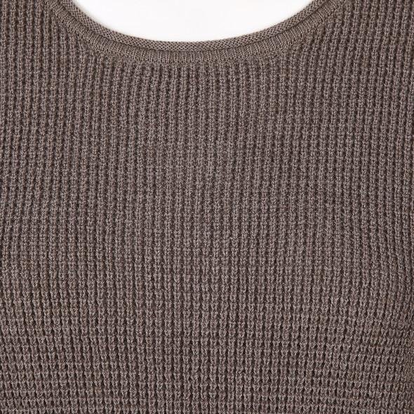 Damen Piqué Pullover