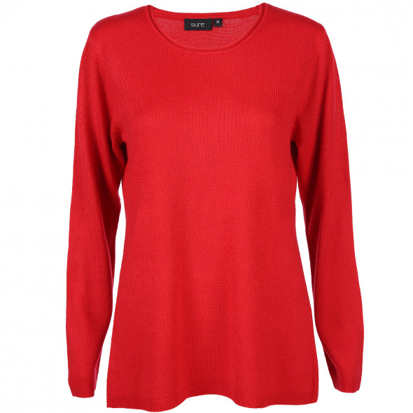 4b6a9e2a19106d Damen Cashmere-Like Pullover (Rot) | AWG Mode