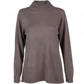Damen Turtleneck Pullover Cashmere-Like
