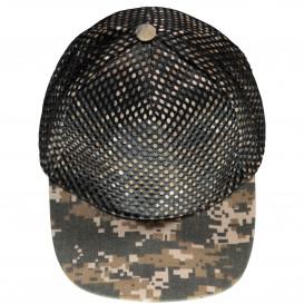 Jungen Cap in Camouflage Muster