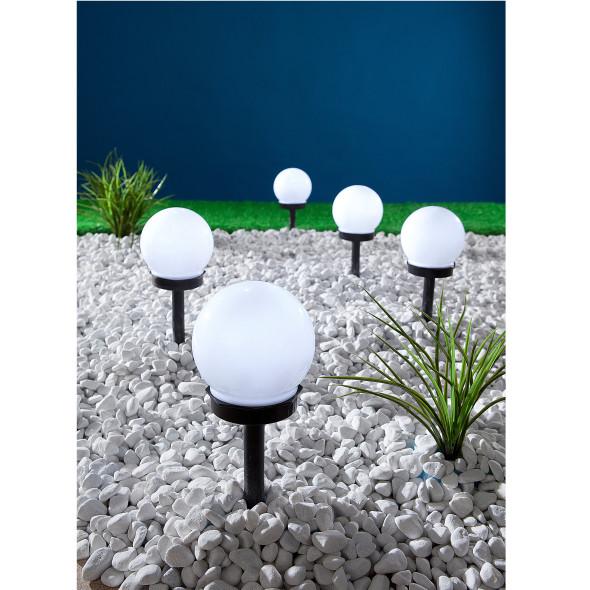 LED Wegleuchte Solar Kugel
