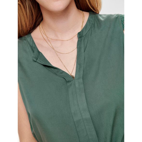 Only ONLKIMMI S/L TOP WVN Bluse