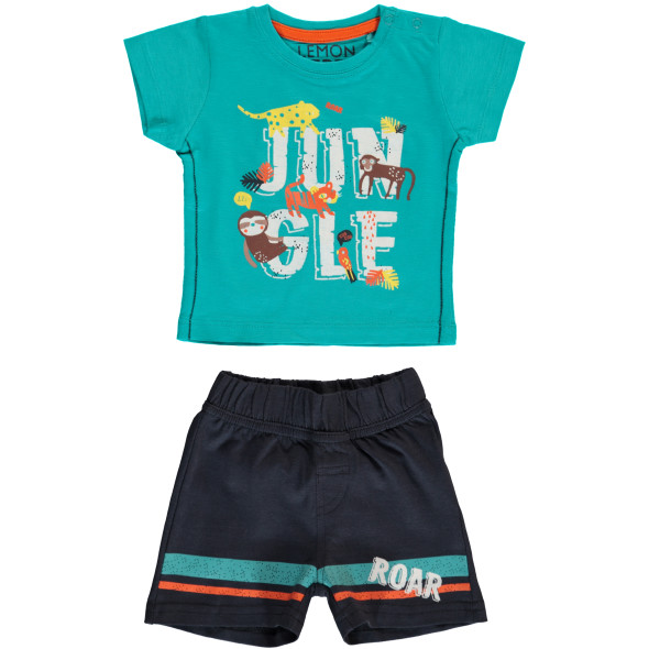 Baby Set bestehend aus Shirt und kurzer Hose