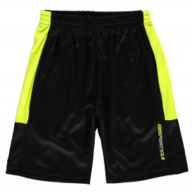 Jungen Sport Shorts mit Neonstreifen