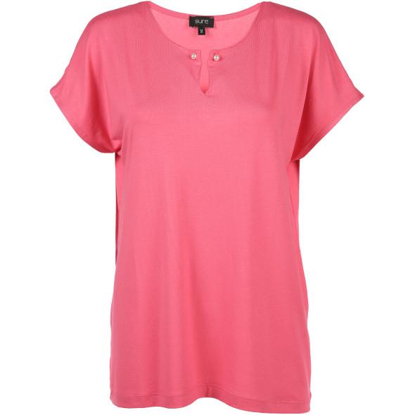 Damen Shirt mit raffiniertem Ausschnitt