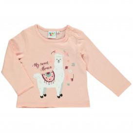 Baby Mädchen Langarmshirt mit Frontprint