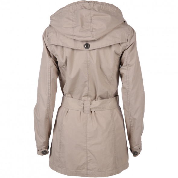 Damen Trenchcoat mit Bindegürtel