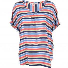 Damen Blusenshirt im Streifenlook
