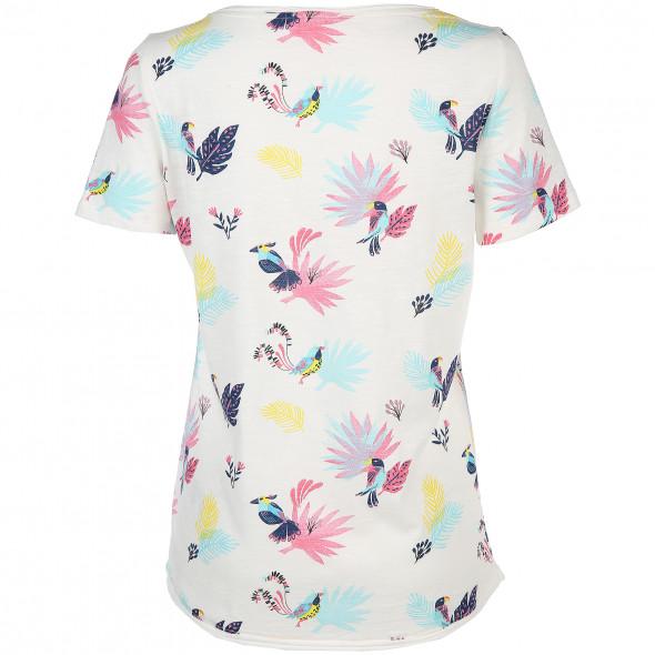 Damen Shirt mit effektvollem Dschungel-Print
