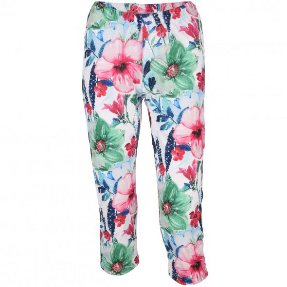 Damen Basic Capri Leggings