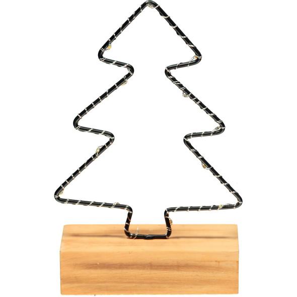 LED Dekofigur - XMas Tree