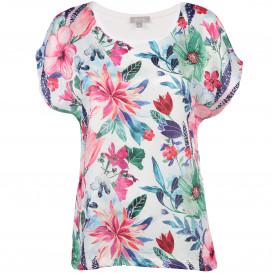 Damen Printshirt im floralen Dessin