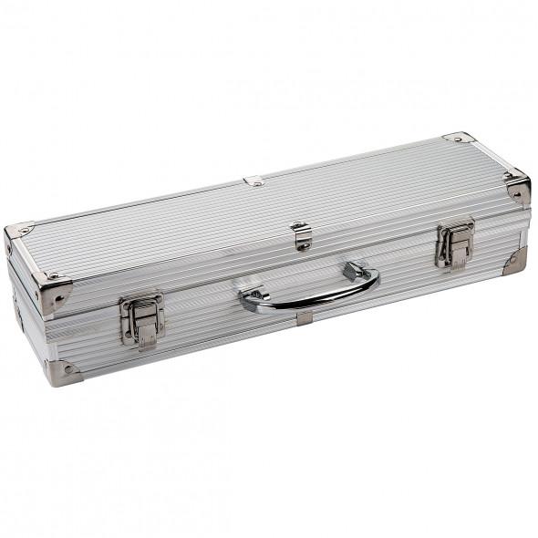 Grillbesteck Koffer 4er-Set